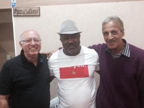 Eu, Antonio Carlos e Oscar Amaro