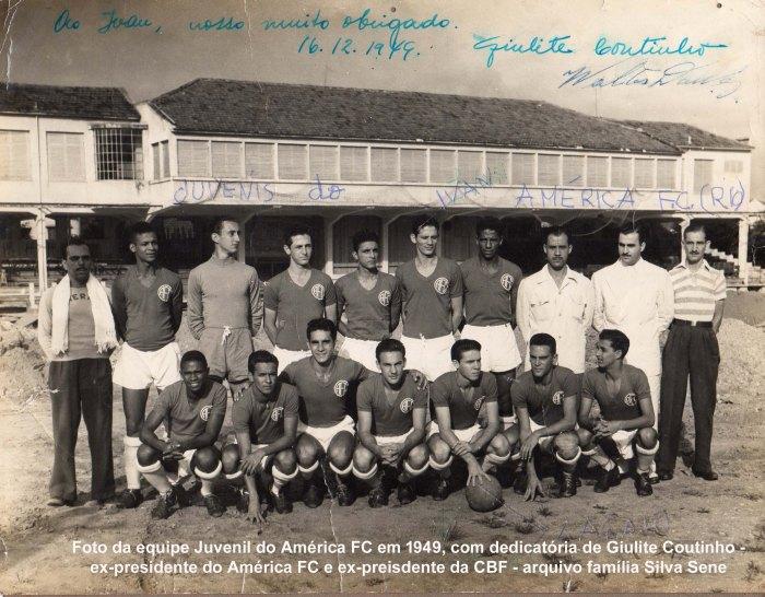 Foto com dedicatoria Giulite Coutinho