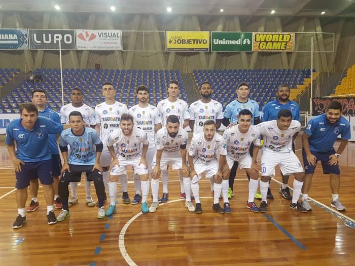 Elenco do Taubaté Futsal que disputa a Liga Paulista (foto Divulgação) (2)
