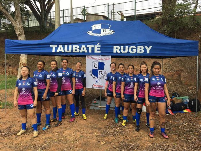 Atletas do Taubaté Rugby que disputaram as competições durante o final de semana - DIVULGAÇÃO