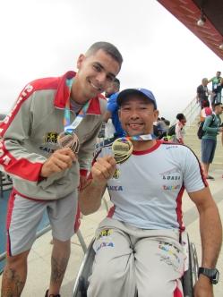 Aislan Silva e Rogério Lima