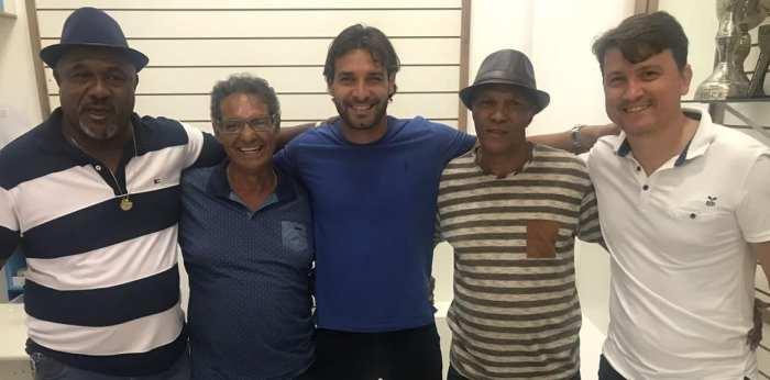 Gilsinho e Rubens Junior