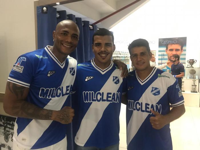 Rafael Dida e Felipe (goleiros) e Moradei