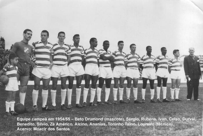 1955 - Time Taubaté campeão 55 cópia