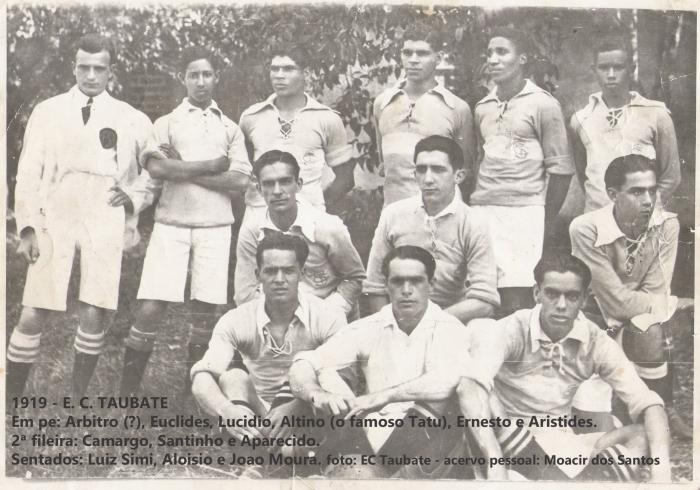 EQUIPE DO E.C. TAUBATÉ DE 1919 XX