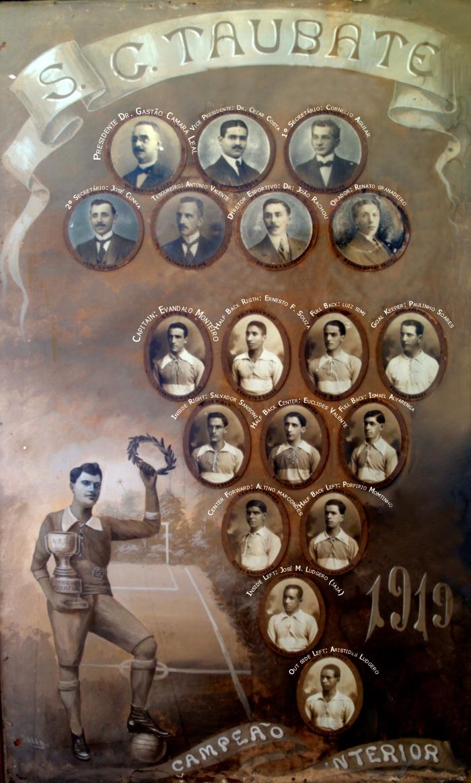 time campeão interior 1919.