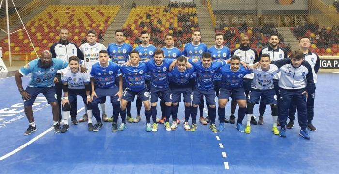 Elenco do Taubaté Futsal que disputa a Liga Paulista de Futsal