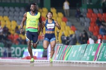 24/08/2019 - Jogos Parapanamericanos Lima 2019 - Atletismo - Viviane Soares - 200m T12 . (Crédito: Daniel Zappe/EXEMPLUS/CPB).