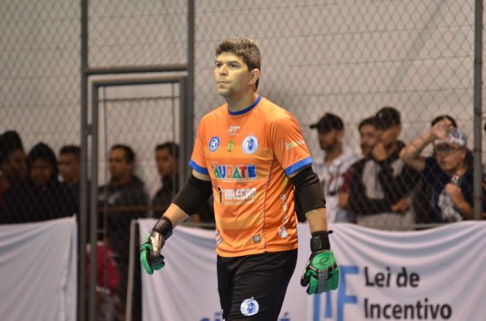 goleiro Pezão, do Taubaté Futsal (Foto Jonas Barbetta Top 10 Comunicação)