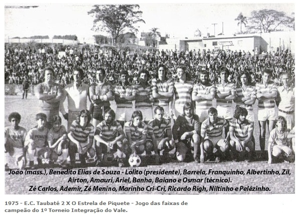 FOTO TAUBATE EM 1975