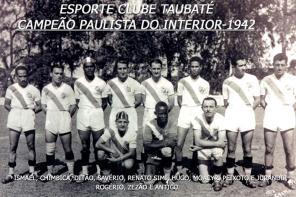 TAUBATÉ - CAMPEAO PAULISTA 1942