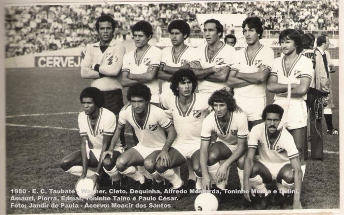 time 1980 com Edmar