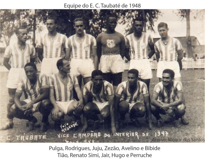 Equipe 1948 identificada