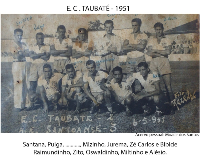 Equipe 1951 identificada