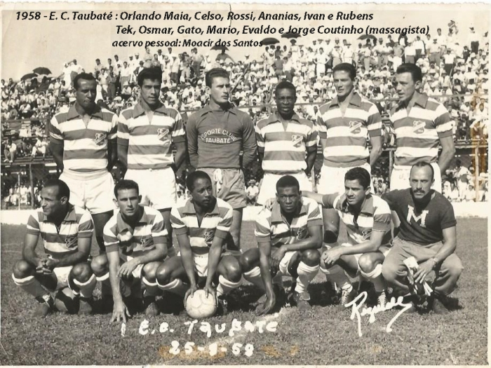 Equipe de 1958 (Contra o São Paulo 24.08.58)
